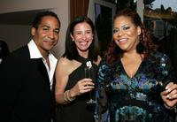 Scotch Ellis Loring, Mimi Rogers and Kim Coles at the celebration honoring Geena Davis as this year's Hollywood Hero.