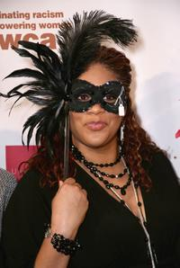 Kim Coles at the YWCA Grand Masquerade Benefactrix Ball.