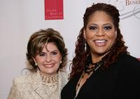 Gloria Allred and Kim Coles at the YWCA Grand Masquerade Benefactrix Ball.