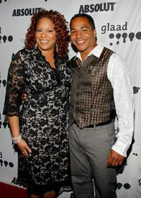 Kim Coles and Scotch Ellis Loring at the 18th Annual GLAAD Media Awards.