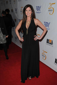 Lisa Coles at the 25th Anniversary Genesis Awards.