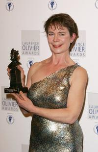 Celia Imrie at the Musical Award.