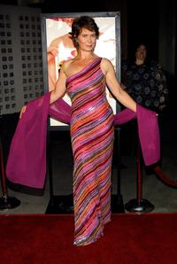 Celia Imrie at the premiere of