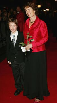 Angus and Celia Imrie at the London premiere and Press Night of