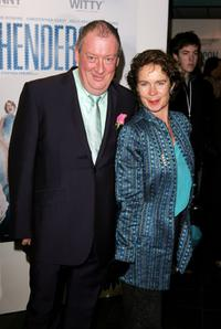 Celia Imrie and Guest at the UK premiere of