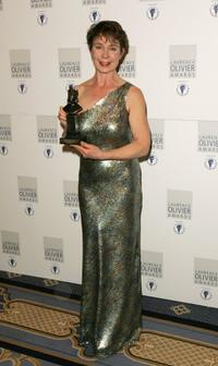 Celia Imrie at the Laurence Olivier Awards.