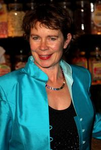Celia Imrie at the afterparty following the world premiere of