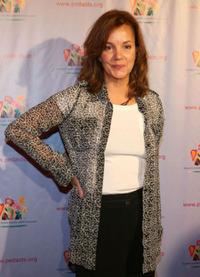 Margaret Colin at the Elizabeth Glaser Pediatric AIDS Foundation