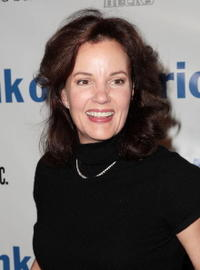 Margaret Colin at the opening night party of Shakespeare In The Park's