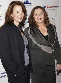 Margaret Colin and Kathleen Turner at the 20th Annual Power Lunch for women to benefit Citymeals-On-Wheels.
