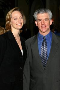 Gregory Jbara and guest at the 2nd Annual opening night of