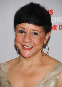 Sheila Johnson at the 2011 Parsons Fashion Benefit Pier 60 in New York.