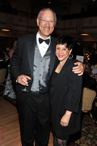 Jackie Robinson Foundation Chairman Leonard S. Coleman Jr. and Sheila Johnson at the 2011 Jackie Robinson Foundation awards gala in New York.