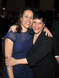 Jackie Robinson Foundation President and CEO Della Britton Baeza and Sheila Johnson at the 2011 Jackie Robinson Foundation awards gala in New York.
