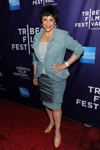 Sheila Johnson at the New York premiere of