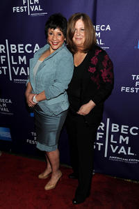 Sheila Johnson and director Susan Koch at the New York premiere of