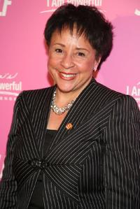 Sheila Johnson at the SELF Magazine's celebration of cover model and CARE ambassador Sarah Michelle Gellar.