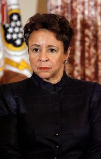 Sheila Johnson at the program launch of
