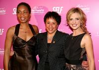 Helene Gayle, Sheila Johnson and Sarah Michelle Gellar at the SELF Magazine's celebration for cover model and CARE ambassador Gellar.