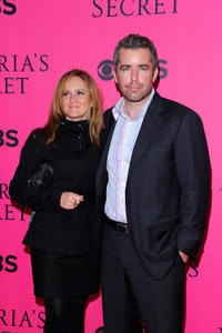 Samantha Bee and Jason Jonesa at the 2011 Victoria's Secret Fashion Show in New York.