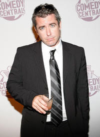 Jason Jones at the comedy central's primetime Emmy awards party.