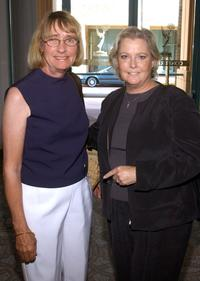 Kathryn Joosten and Nanci Linke-Ellis at the Academy of Television Arts and Sciences.