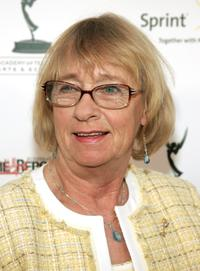 Kathryn Joosten at the Academy of Television Arts and Sciences' reception.