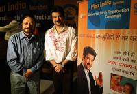 Govind Nihalani and Anil Kapoor at the launch of