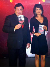 Rishi Kapoor and Priyanka Chopra at the book launch of