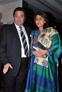 Rishi Kapoor and Neetu Singh Kapoor at the