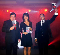 Rishi Kapoor, Priyanka Chopra and Guest at the book launch of