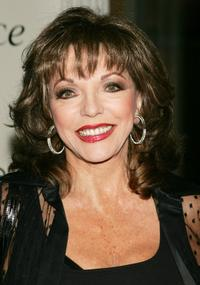Joan Collins at the launch party for Will & Grace: Let The Music Out!.