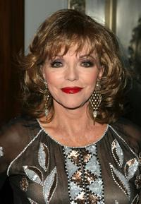 Joan Collins at the 20th Anniversary Alzheimer's Association Rita Hayworth Gala.