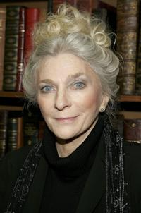 Judy Collins at the signing of her new book