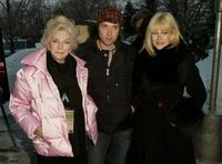Judy Collins, Rufus Wainwright and Lian Lunson at the premiere of