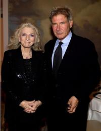 Judy Collins and Harrison Ford at the B'ani B'rith International Distinguished Humanitarian Award Dinner.