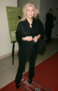 Judy Collins at the premiere of George Butler's