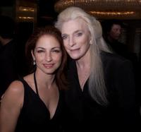 Gloria Estefan and Judy Collins at the Songwriters Hall of Fame 32nd Annual Awards.