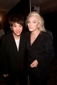 Diane Warrren and Judy Collins at the Songwriters Hall of Fame 32nd Annual Awards.