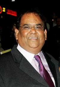 Satish Kaushik at the Times BFI 51st London Film Festival screening of