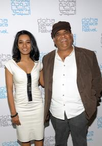 Tannishtha Chatterjee and Satish Kaushik at the press conference of