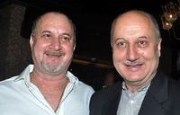 Raju Kher and Anupam Kher at the launch of