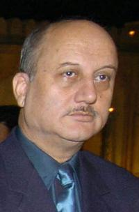 Anupam Kher at the 5th International Film Festival.