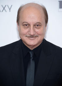 Anupam Kher at the New York premiere of