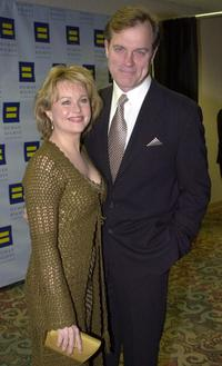 Stephen Collins and his wife Fay Grant at the 10th Annual Human Rights Campaign Gala.