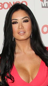 Kim Lee at the Ok! Magazine Toasts Hollywood's Sexiest Singles event in California.