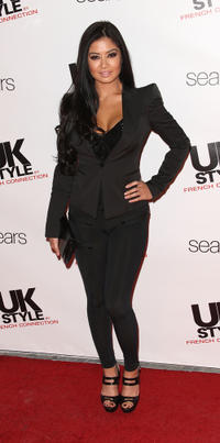 Kim Lee at the UK Style by French Connection Celebrates Lexington Social House launch in California.