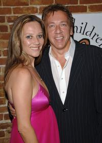 Louise Ashby and Ross King at the Freedom From Judgement: Fundraiser For The Louise Ashby Fund.