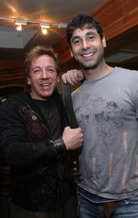 Ross King and Guest at the Gibson Guitar and Entertainment Tonight celebrity hospitality lodge during the 2007 Sundance Film Festival.