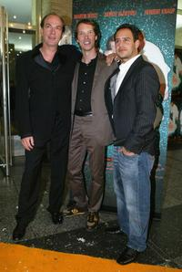 Herbert Knaup, Martin Weiss and Moritz Bleibtreu at the premiere of
